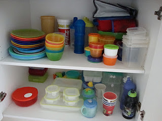 After - plastics cupboard