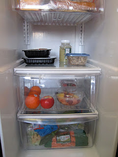 Organized refrigerator drawers