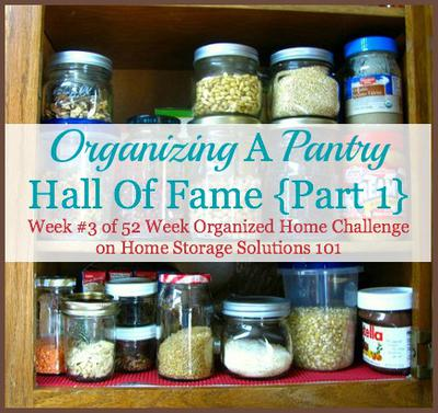 Organizing A Pantry Challenge Before And After Pictures For Hall Of Fame