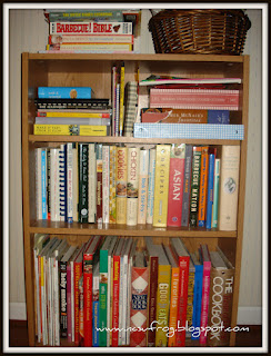 Ideas For Displaying Amp Organizing Cookbooks