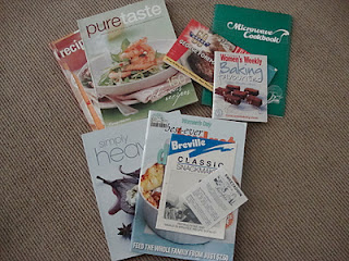 Cookbooks to declutter