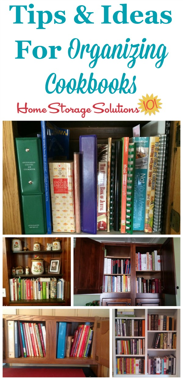 Attirant Tips And Ideas For Organizing Cookbooks, Showing Real Life Examples From  Peopleu0027s Homes And Kitchens ...