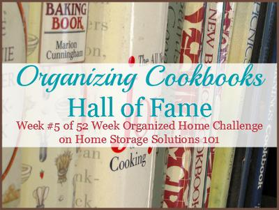 Bon Tips U0026 Ideas For Organizing Cookbooks