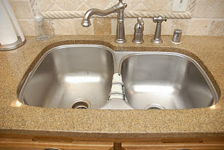 After - kitchen sink