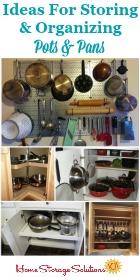 Organizing Pots & Pans
