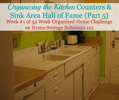 Organizing The Kitchen Countertops: Before And After ...