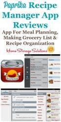 Paprika Recipe Manager App Reviews