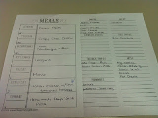 Planning My Family's Meals With A Weekly Meal Planner Worksheet