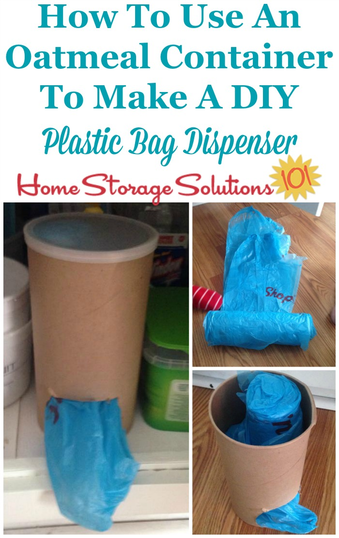 6 Diy Plastic Bag Holder Ideas Using Upcycled Containers