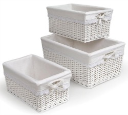rattan baskets with liners