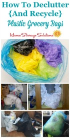 Recycle Plastic Grocery Bags