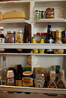 Refrigerator door - organized