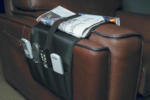 remote control armchair caddy