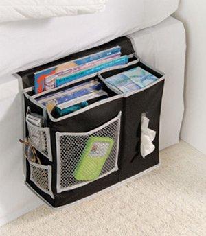 Bedside Remote Control Storage Pocket