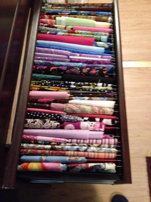 Sewing Fabric Storage Solution I Love Filing It