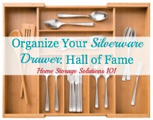 Organize Silverware Drawer