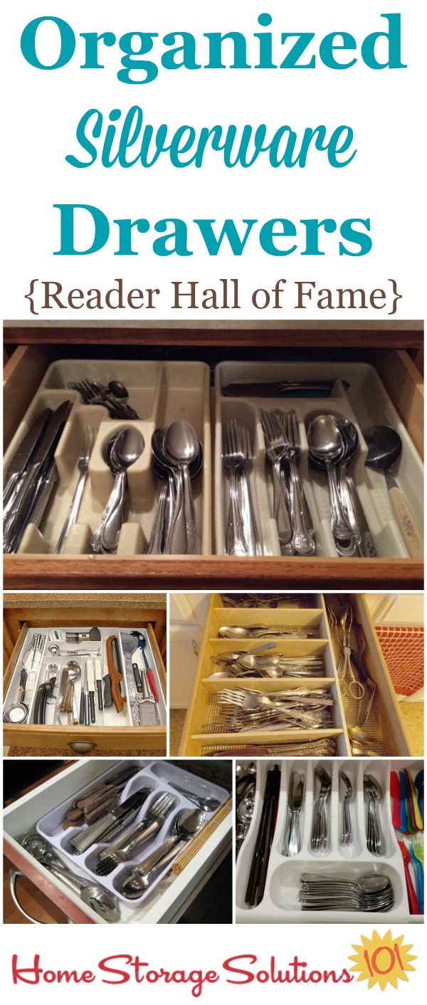 Beau Organized Silverware Drawer Hall Of Fame On Home Storage Solutions 101,  Showing Readers Whou0027 ...