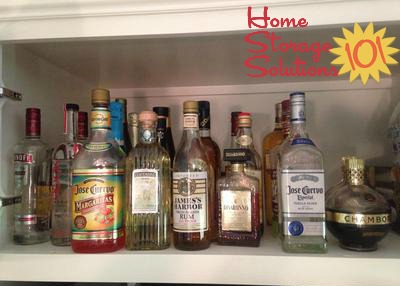 Simple Solution: Store In Kitchen Cabinet