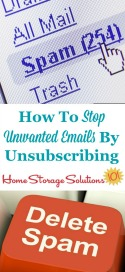 Stop Unwanted Emails