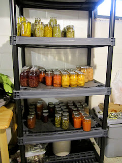 Home canned goods - after