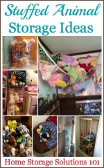 Storage For Stuffed Animals