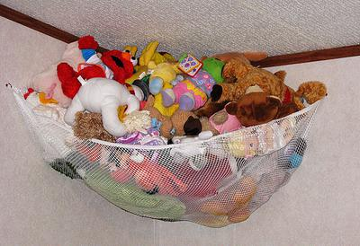stuffed animal   or hammock keeps them off the floor storage for stuffed animals  ideas that work  rh   home storage solutions 101