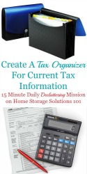 Create A Tax Organizer
