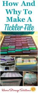 Create A Tickler File
