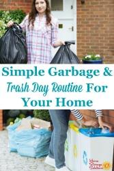 Garbage & Trash Day Routine