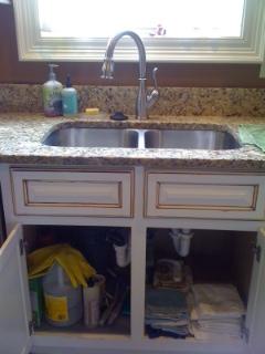 Under My Kitchen Sink Now Has Much Less Stuff