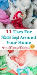 Uses For Plastic Bags