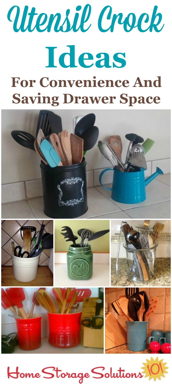 Utensil Crock Ideas: For Convenience
