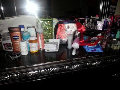 She Explained About The Top Of This Piece Furniture My Issue Is Lol Don T Judge Me Lotions Meds I Take Every Morning