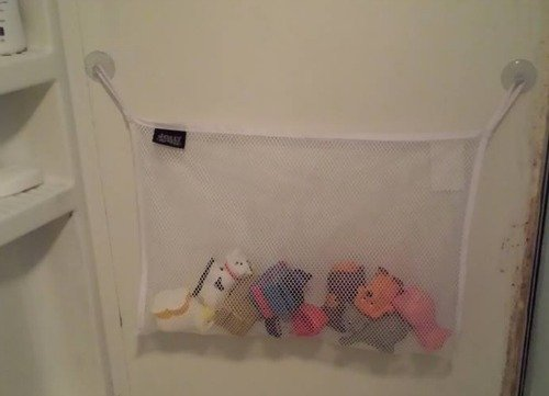 Jolly Jumper bath toy bag