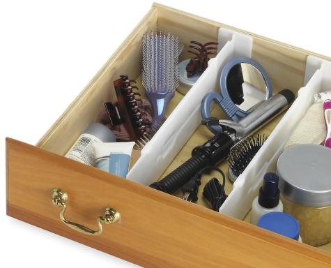 bathroom drawer dividers
