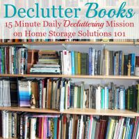 How To Get Rid Of Book Clutter