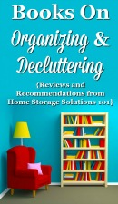 Books On Organizing & Decluttering