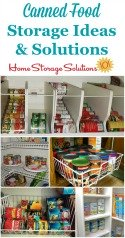 Can Storage Ideas & Solutions