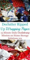 Declutter Your Christmas Mess