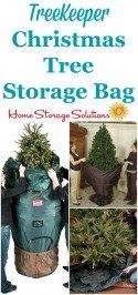 TreeKeeper Artificial Christmas Tree Storage Bag