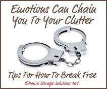 How To Be A Clutter Buster