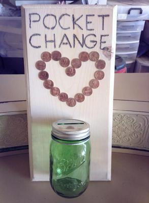 Laundry Change Jar Or Holder Ideas To Keep Loose Change