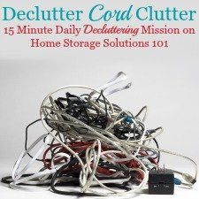 How To Get Rid Of Charger, Cable & Cord Clutter