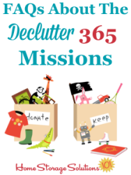 Declutter 365 FAQs