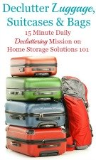 Declutter Luggage