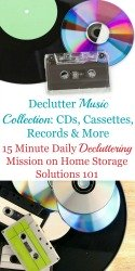 Declutter Music Collection