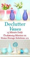 Declutter Vases