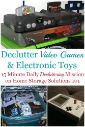 How To Declutter Video Games
