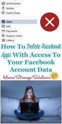 Delete Facebook Apps