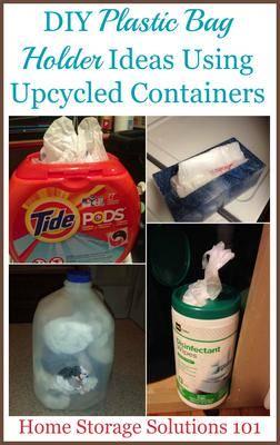 0373e538e4a I ve collected 6 different DIY plastic bag holder ideas below
